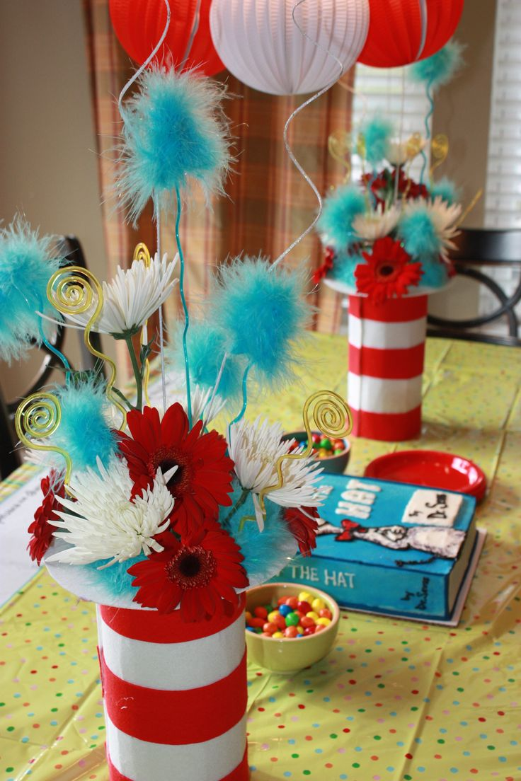 Dr Seuss Cake Decorating Ideas
