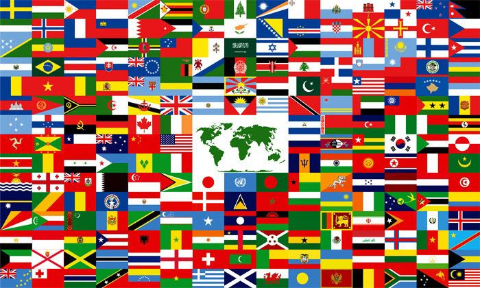 Whole Flags Pic America Latin