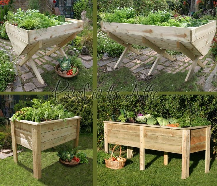 Raised Garden Trough Plans