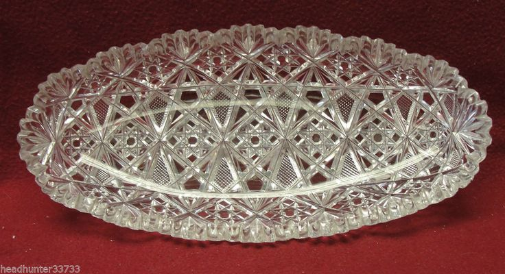 Tall Candle Crystal Pieces Holders 2 Cut