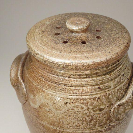 Ceramic Countertop Compost Crock