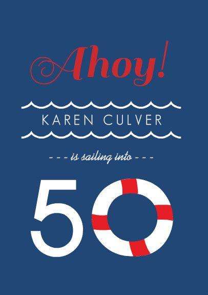 Printable Invitations 50th Birthday