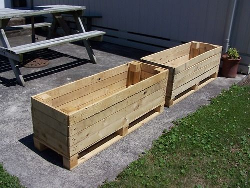 How Make Raised Garden Beds Pallets