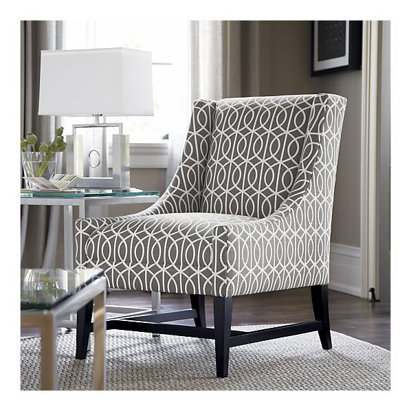 Arms Accent Patterned Chairs