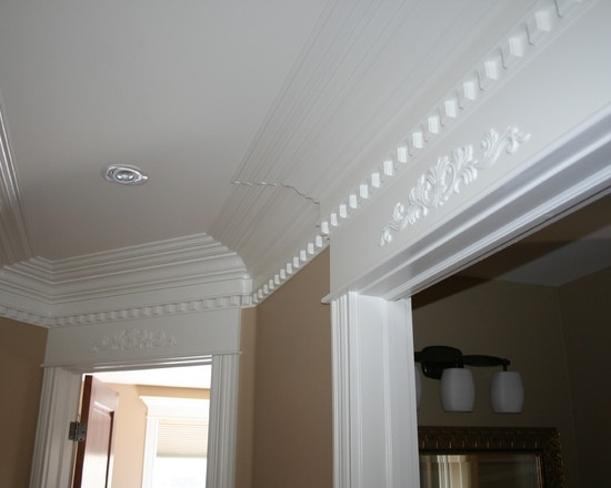 Stacked Crown Molding On Arches And Doors Google Search