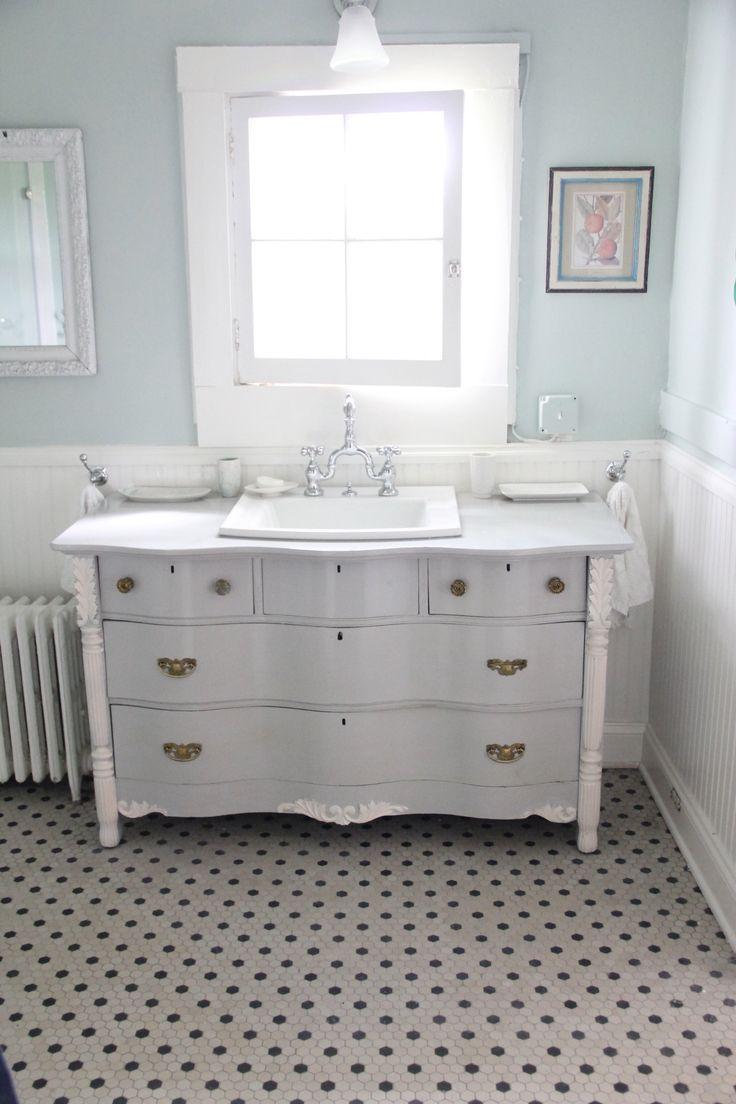 Dressers Turned Bathroom Vanities