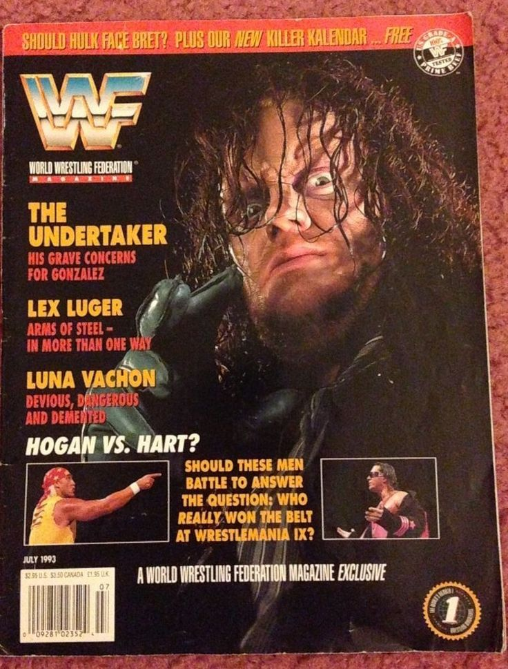 Wwe Magazine Undertaker