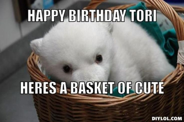 Torri Birthday Meme Happy