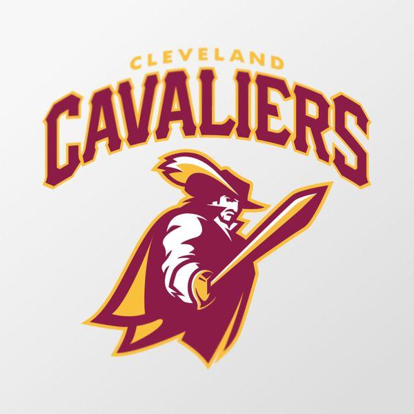 Cleveland Cavaliers Logos Blue
