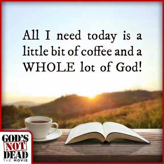 Coffee Sayings Bible Quotes