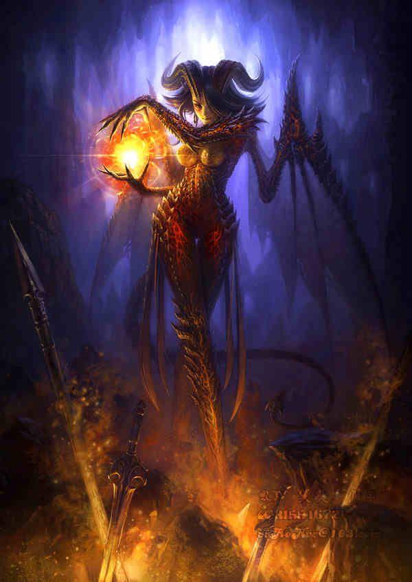 Dark Angel Unicorn