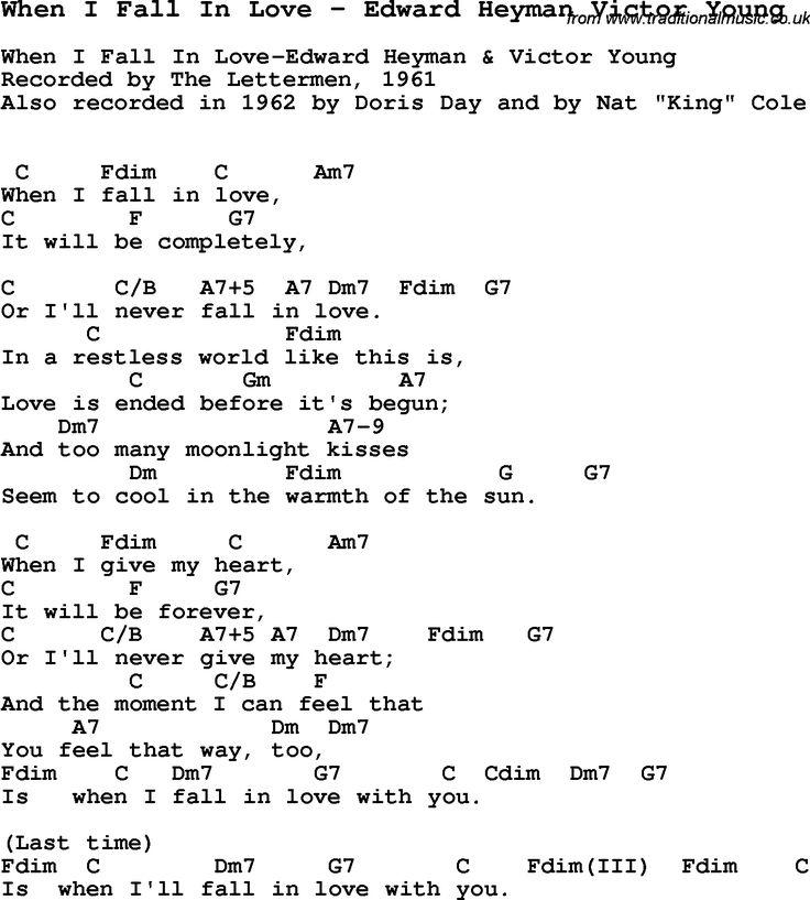 Easy Fall Love Lyrics