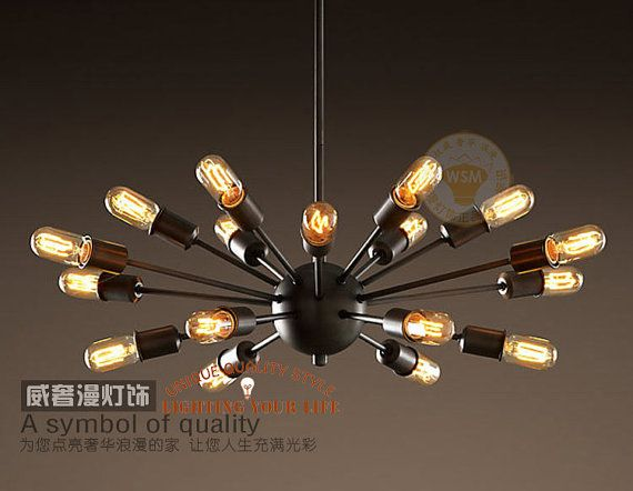 Filament Light Bulb Chandelier