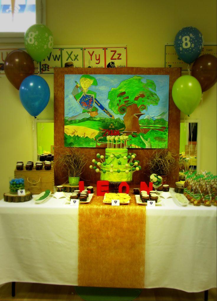 Party Zelda Birthday Decorations