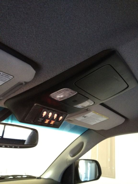 Overhead Console Custom Switch Panel Page 17 Tacoma