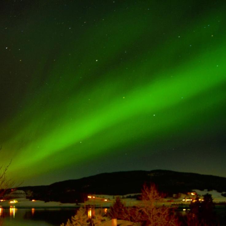 Clear Igloo Northern Lights