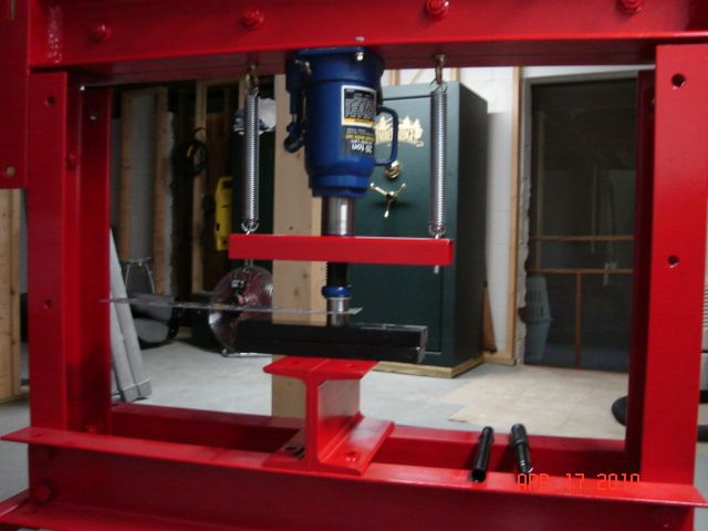 6 Ton Frame Bench Shop Press
