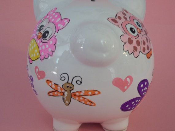 Ceramic Piggy Banks Personalized