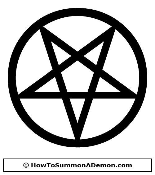 Pentagram Tattoos Stencils Skull