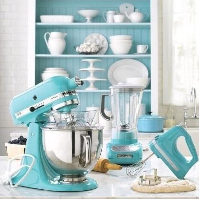 Blue Mixer Martha Stewart Kitchenaid