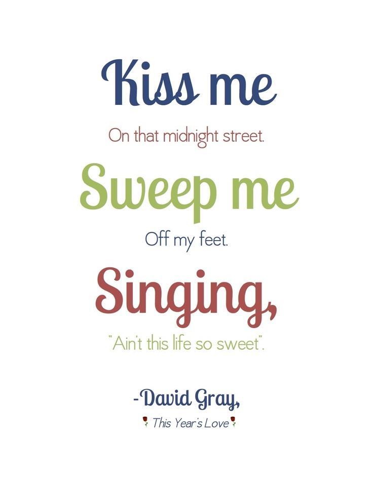 Years Love David Gray Lyrics