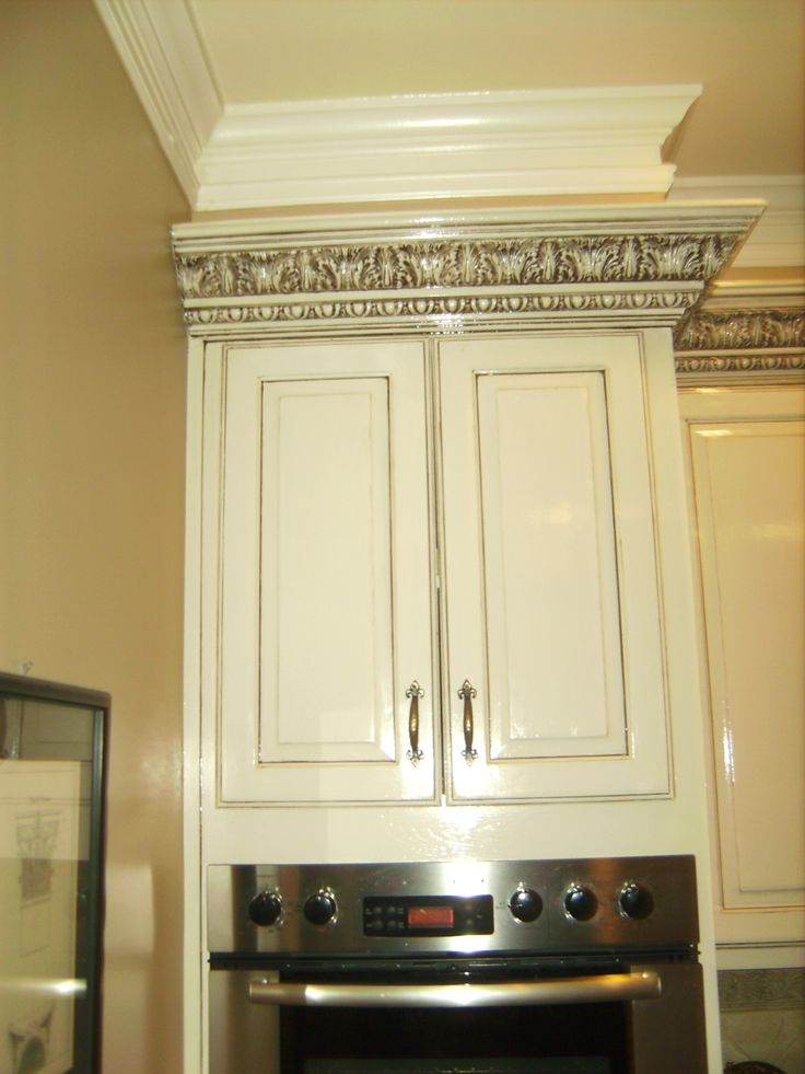 Bottom Painted Cabinets