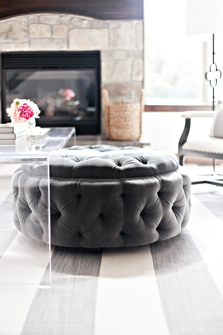 Big Square Ottoman Coffee Table