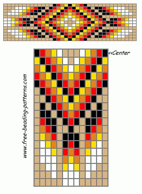 Native American Indian Bead Patterns
