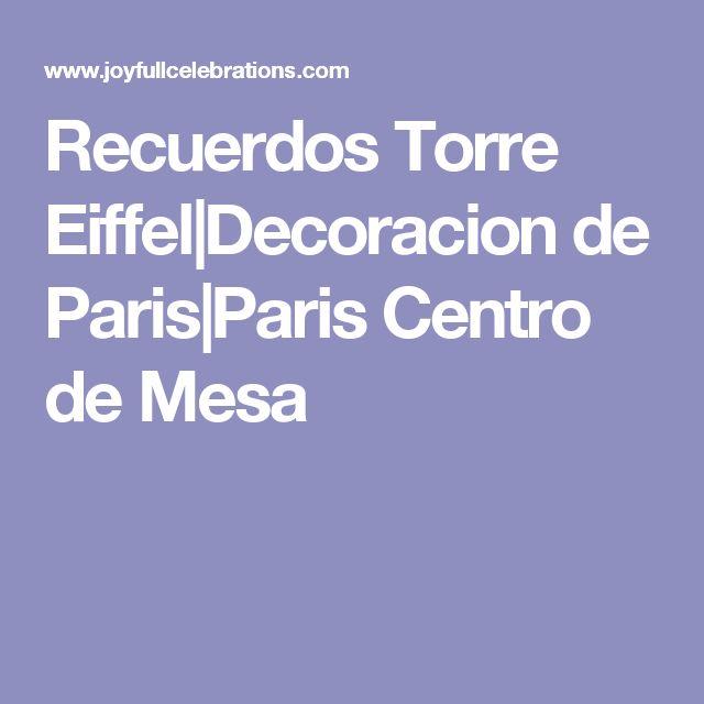 Decoraciones Para Cuarto De Paris