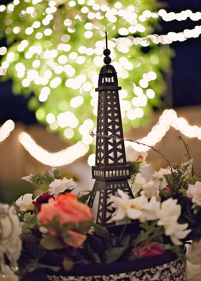 Paris Theme Table Decorations Prom