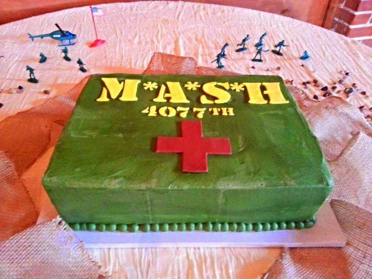 Mash Tv Show Themed Cake Www Bakedinmoore Com Cakes