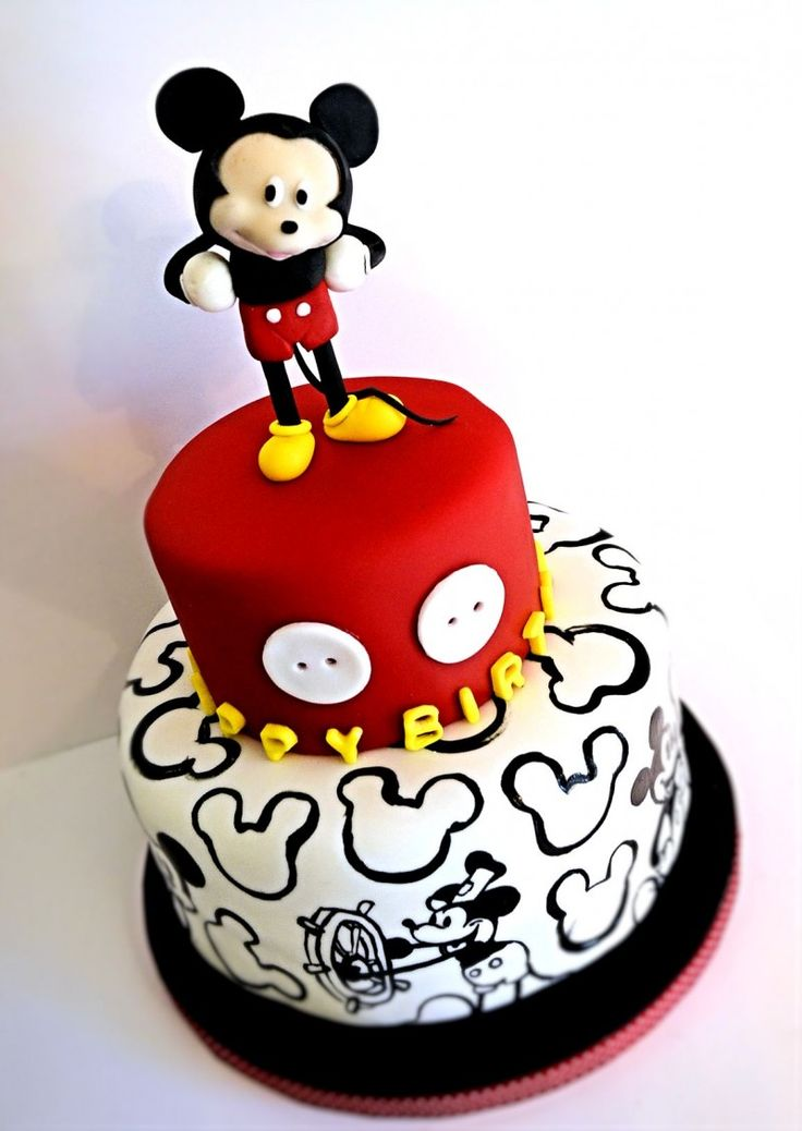 Minnie Mouse Birthday Cupcakes