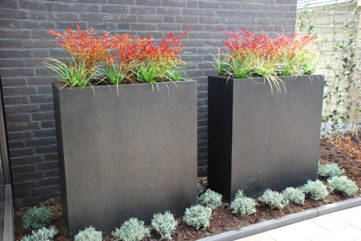 Tall Narrow Planters