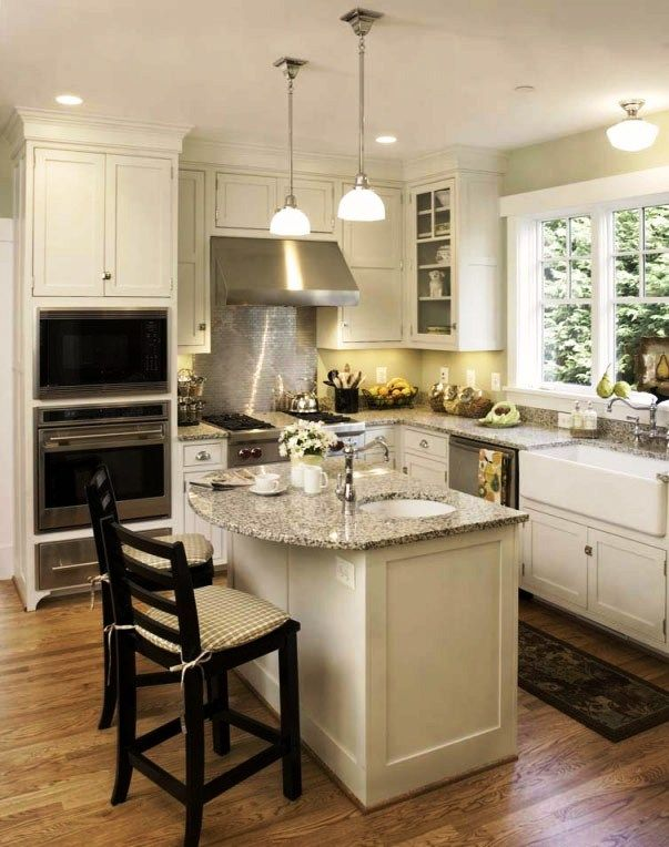 Square Shaped Kitchen Layout