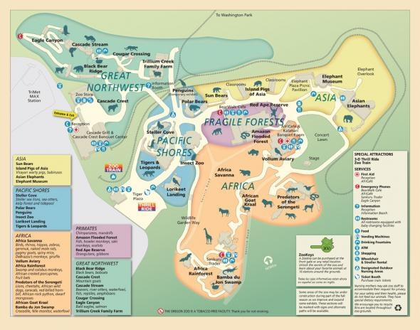 Zoo Lights Portland Or