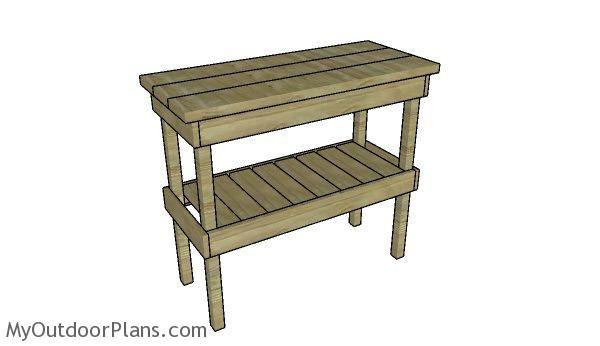 Bbq Table Plans Myoutdoorplans Free Woodworking Plans