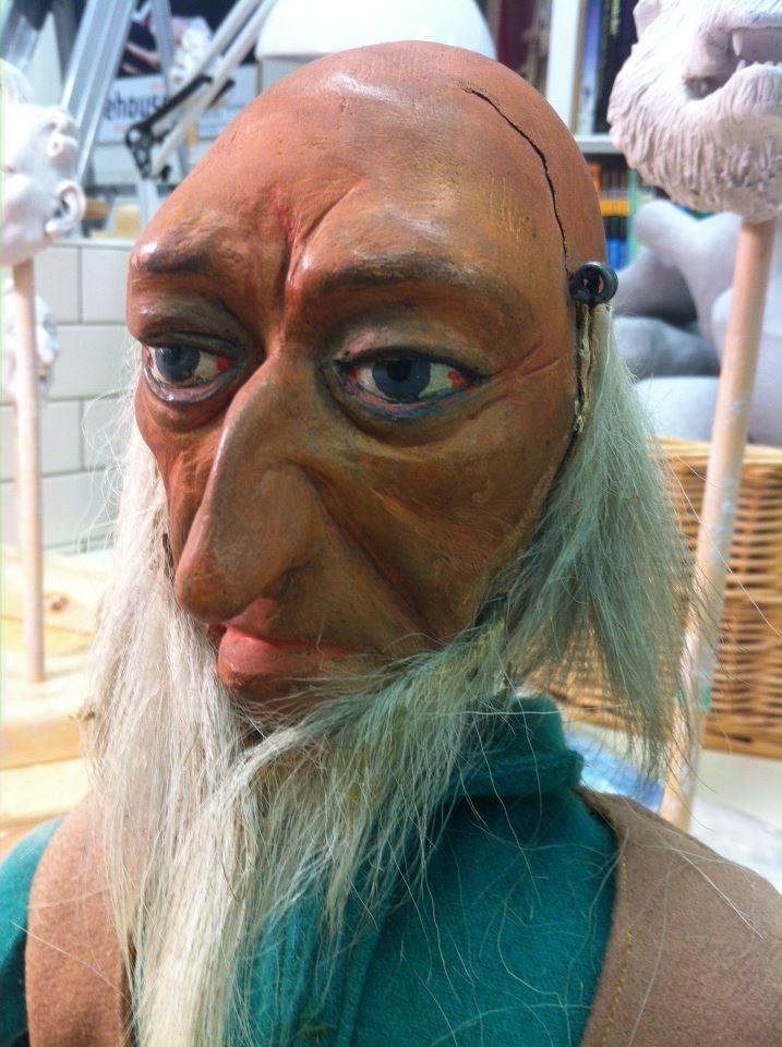 Pinocchio Paper Mache Craft