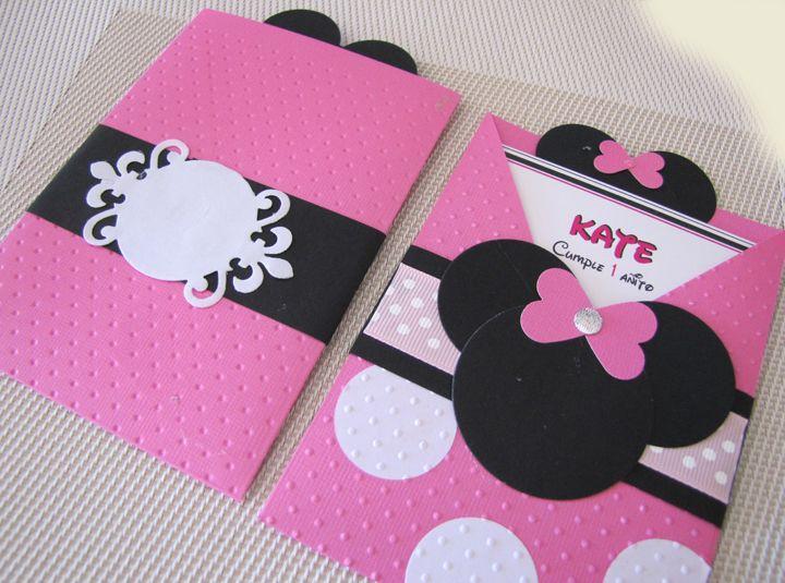 Shower Invitaciones Para Baby Como De Hacer Mouse Minnie