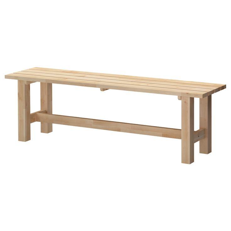 Modern Birch Entry Bench