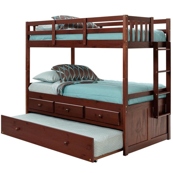 Standard Bunk Trundle And Stairs