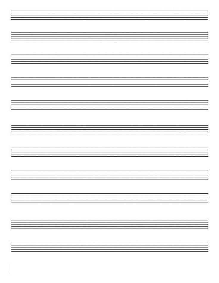 Paper Large Chart Chord Blank