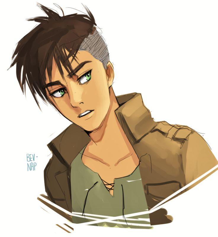 Undercut Anime Hairstyles Male