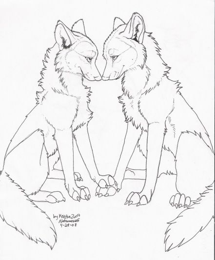 Bear Claws And Together Wolf Transparent