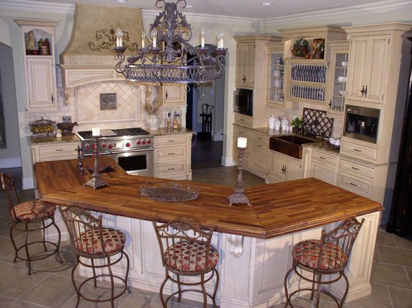 L Shaped Kitchen Seating