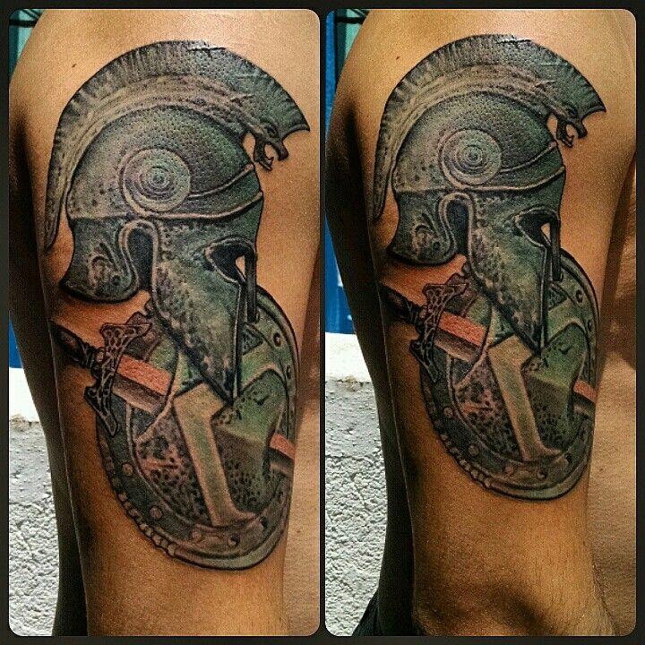 Molon Flash Tattoo Labe