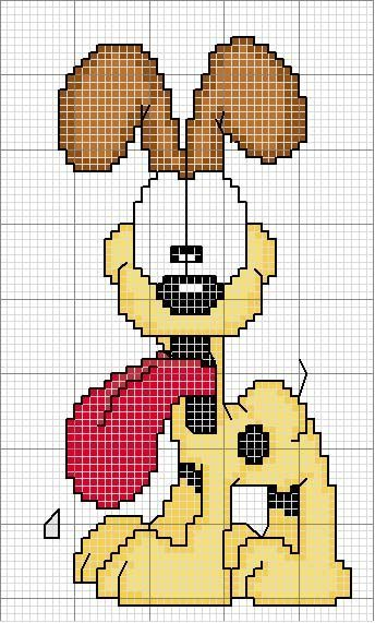 Patterns Bead Perler Garfield