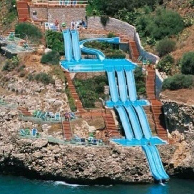 Blow Water Slide Awesome