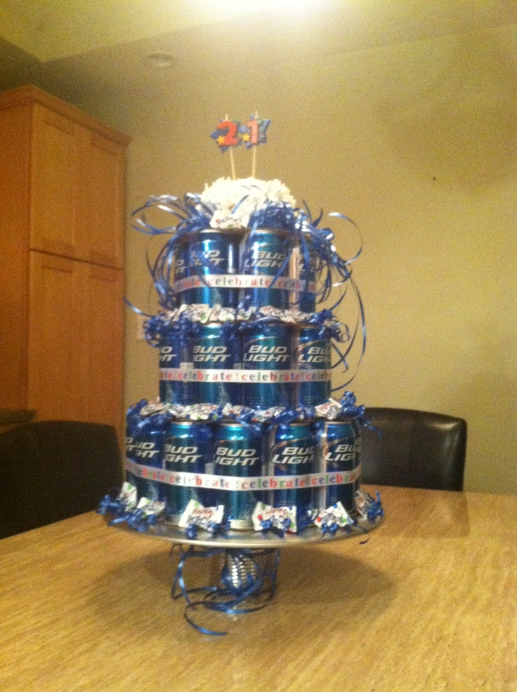 29 Best Images About Beer Cake On Pinterest Bud Light