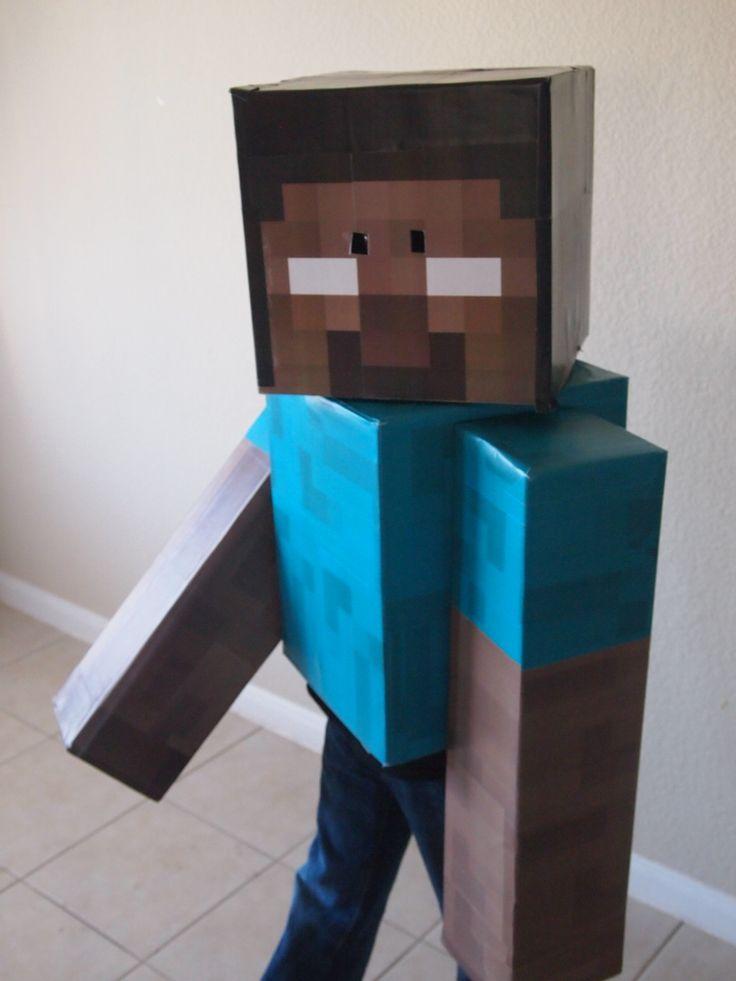 Steve Minecraft Skin Template