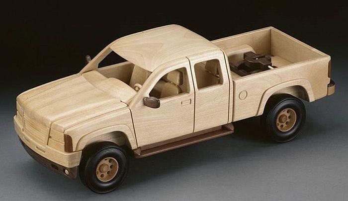 Wooden Trucks Balsa Old